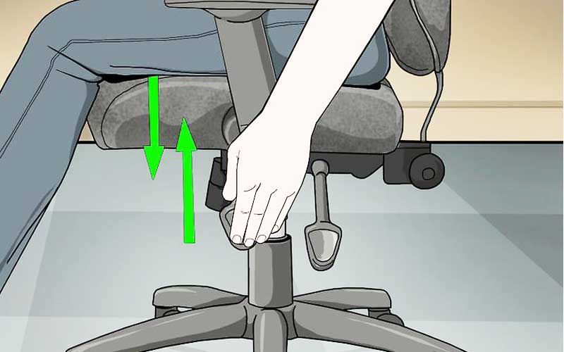 Adjust your chair