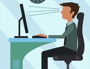 best posture for sitting