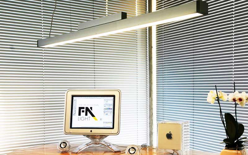 Use lamps or task lights at your desk