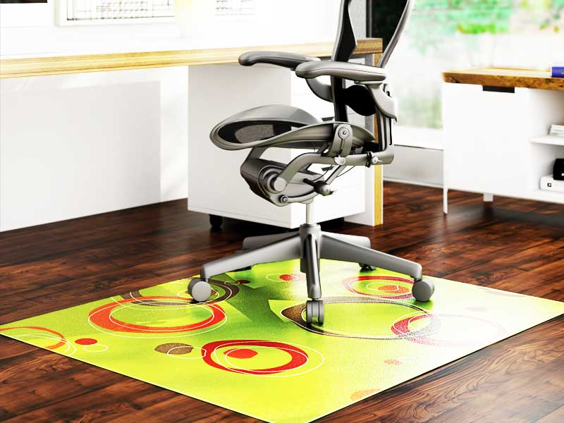 Office chair mat for hardwood floor review