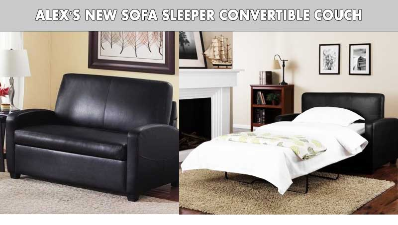 Alex's New Sofa Sleeper Convertible Couch review