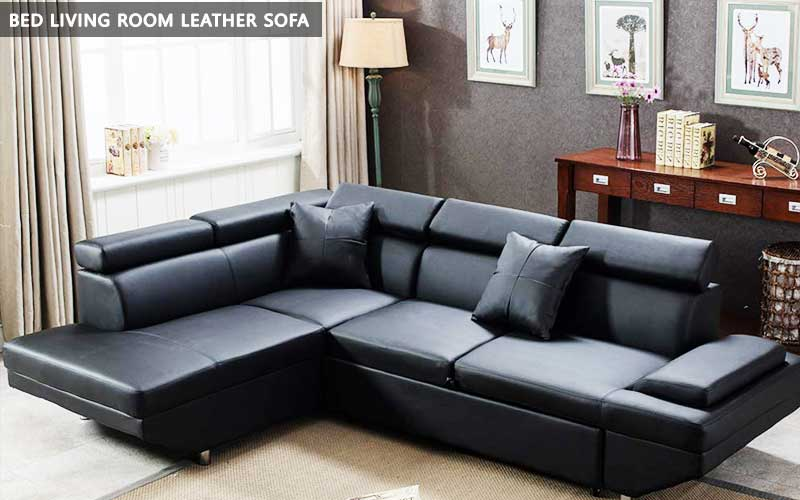 Bed Living Room Leather Sofa review