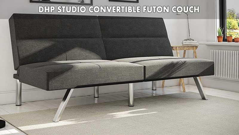 DHP Studio Convertible Futon Couch review