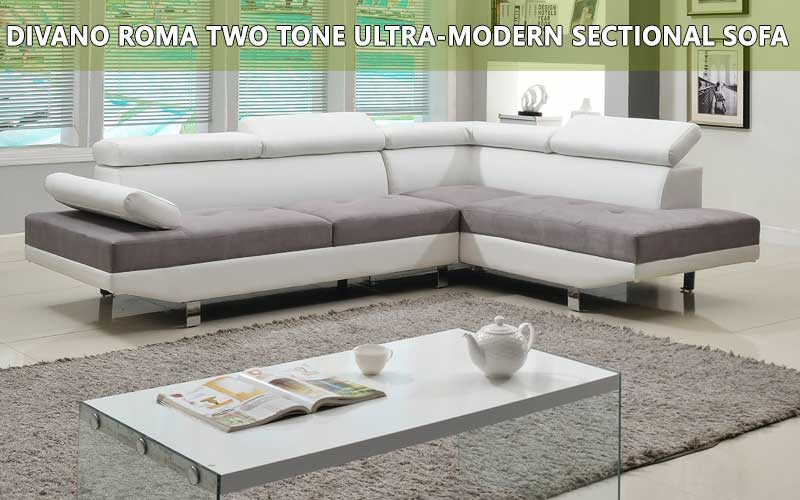 Divano Roma Two Tone Ultra-modern sofa review