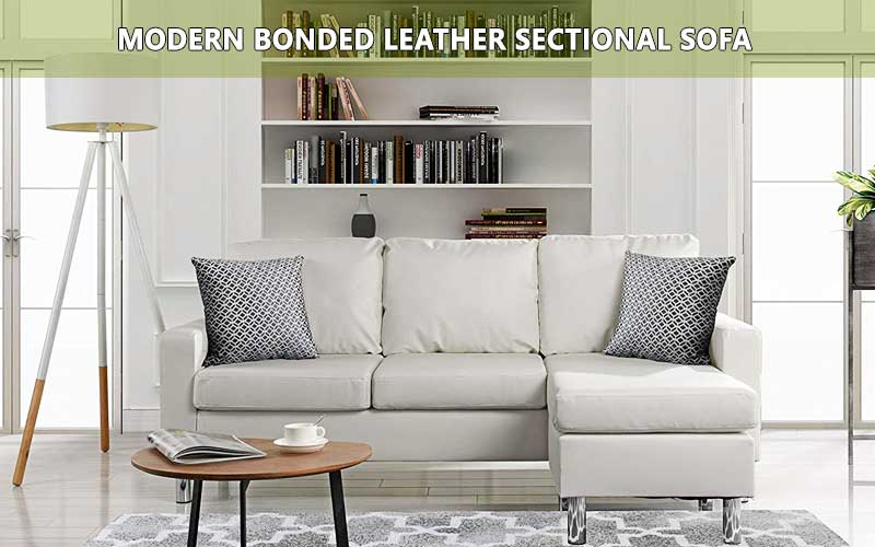 Best space utility Modern Bonded Leather sofa review