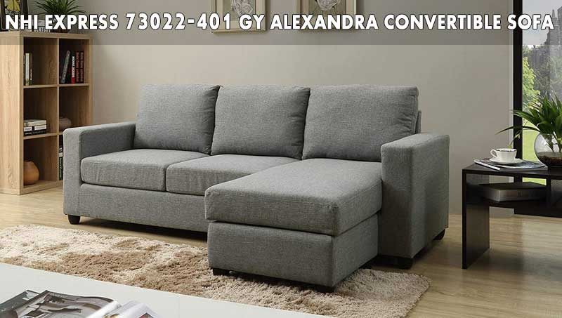 NHI Express 73022-40GY Alexandra Convertible sofa review
