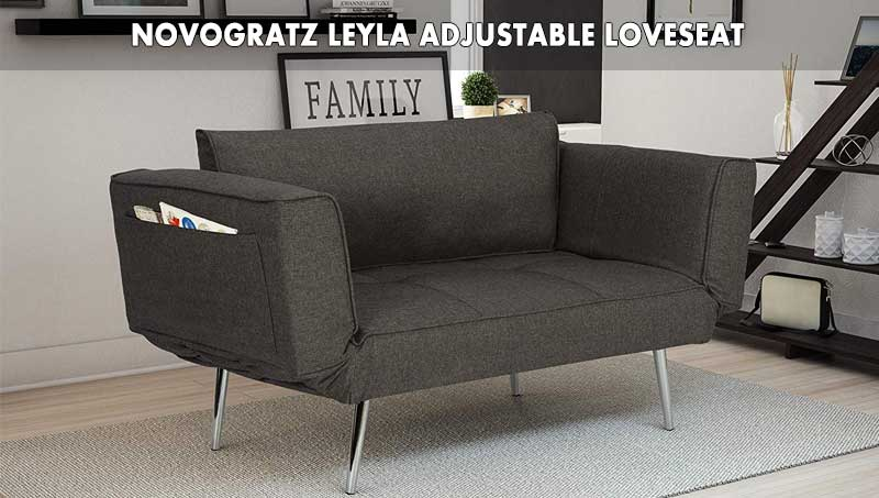 Novogratz Leyla adjustable Loveseat review