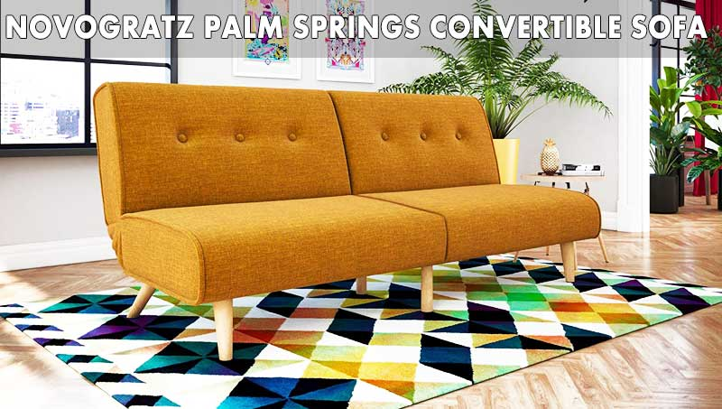 Novogratz Palm Springs Convertible Sofa review