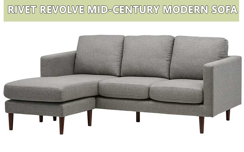 Rivet Revolve Mid-Century Simple sofa review