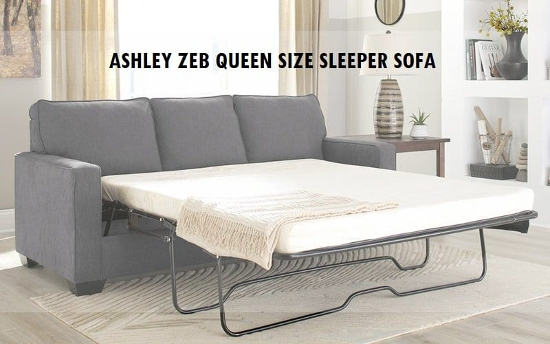 Ashley Zeb queen size Sleeper Sofas Review