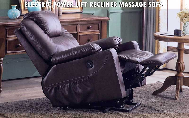 Electric Power Lift Recliner Massage Sofa review