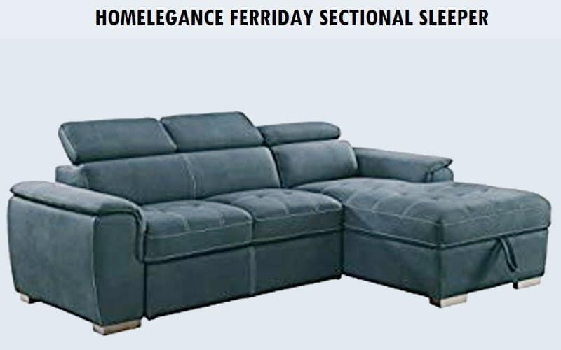 Homelegance Ferriday Sectional sleeper Review