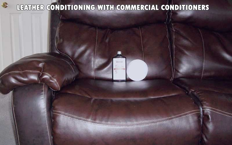 Leather Conditioning with Commercial Conditioners