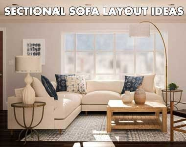 Sectional Sofa Layout Ideas