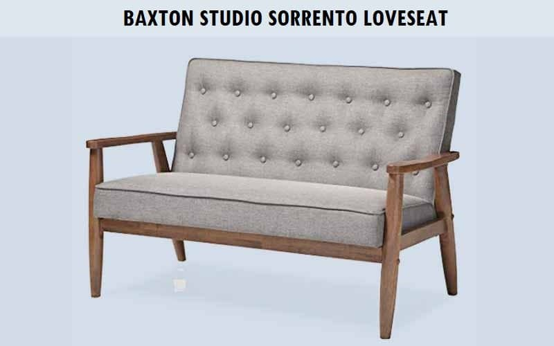 Baxton Studio Sorrento Loveseat Review