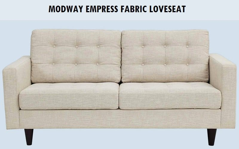 Modway Empress Fabric Loveseat Review