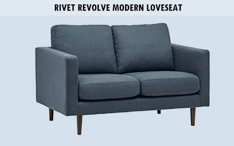 Rivet Revolve Modern Loveseat Review