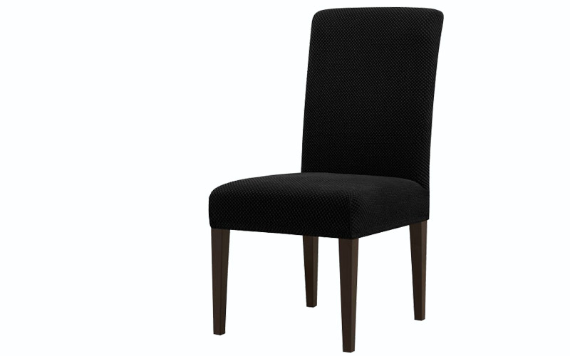 Subrtex Jacquard Polyster Blend Dining Room Chair Slipcovers