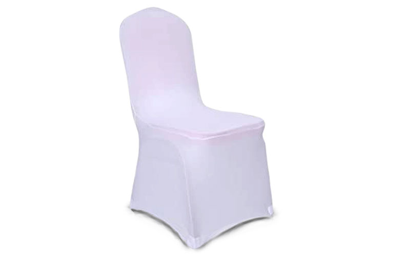 VEVOR White Chair Slipcovers for Wedding Chairs