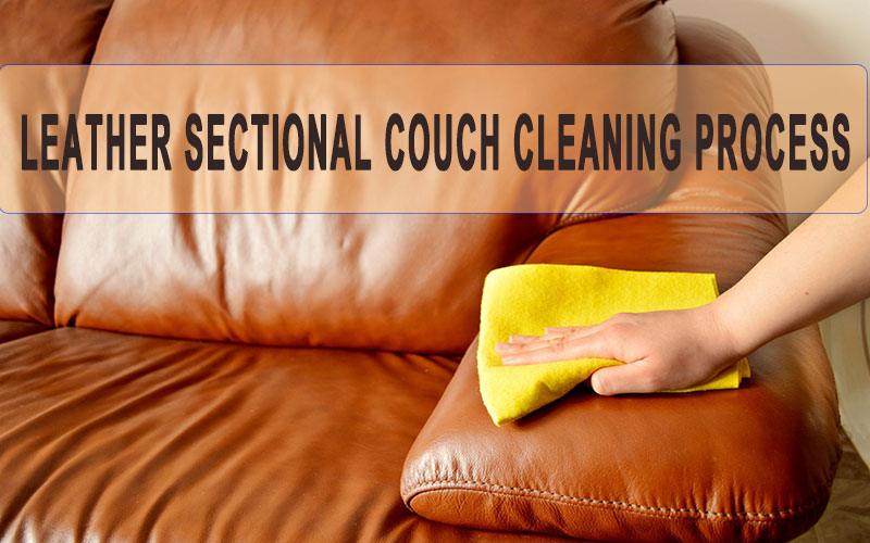 leather couch cleaning process